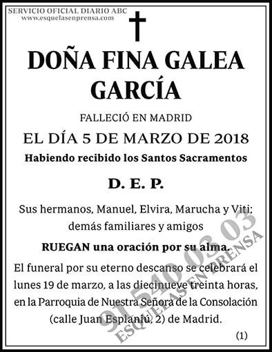 Fina Galea García